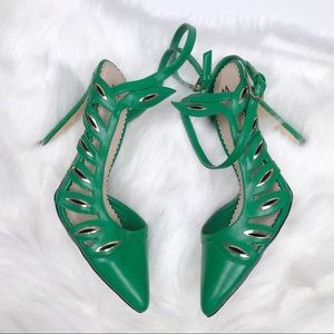Madison Green pumps by Shoe dazzle size 8.5